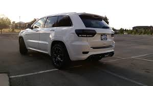 blacked out jeep rear light black out jeep grand cherokee srt pinterest jeep