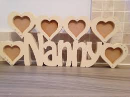 mothers day gift for nanny beautiful wooden nanna nanny nana frames mothers day