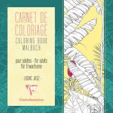Carnet de coloriage adulte  Loisirs créatifs  Clairefontaine