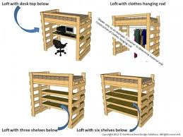 Free Loft Bed Plans Twin by Free Bunkbed Plans Free Bunk Bed Plans Garden Bridge Plans How