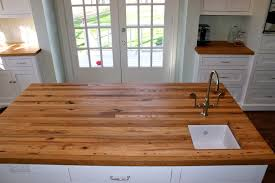 Kitchen Island Wood Countertop by Reclaimed White Oak Wood Countertop Photo Gallery By Devos Custom