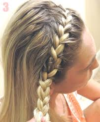 hair braid across back of head how to create a braided headband