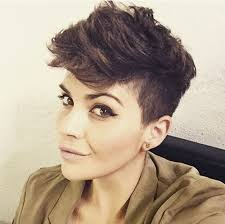 very short edgy haircuts for women with round faces 40 bold and beautiful short spiky haircuts for women
