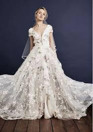 floral wedding dresses best 25 floral wedding gown ideas on floral wedding