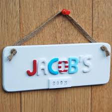 Baby Plaques Baby Name Plaques For Bedroom