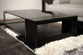 Black Glass Tables 20 Best Ideas Of Glass Coffee Tables