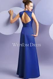 royal blue color bow tie cheap party dress online uk