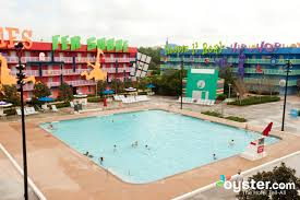 Map Of Disney World Hotels by Disney U0027s Pop Century Resort Orlando Oyster Com Review