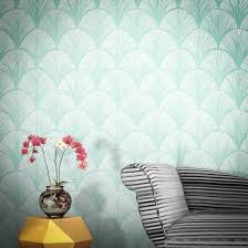 contemporary wallpaper modern green designer wallpaper best of 1 feathr
