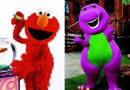 Barney Through The Years Muppets by Naima Lett Blog First Elmo Now Barney Who U0027s Next Dr