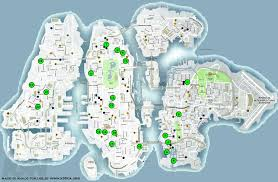 Liberty State Park Map by Grand Theft Auto Iv Achievement Guide U0026 Road Map