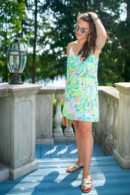 Lilly Pulitzer Lela Silk Dress Covering The Bases Fashion And