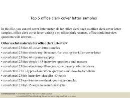 cover letter for office clerk office clerk cover letter samples