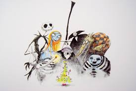 the nightmare before by tim burton sticky mud and