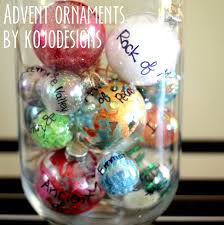 advent ornaments 25 names of jesus for 25 days of