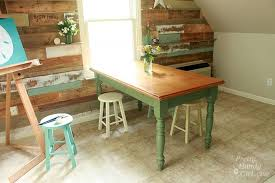 How To Update An Old Dining Room Set Painted Dining Table Finally - Old kitchen table
