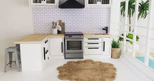 miniature dollhouse kitchen furniture modern dollhouse kitchen furniture archives kitchen design