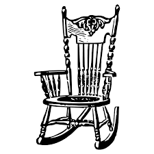 Black And White Chairs by Chair Clipart
