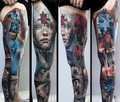 100 full leg sleeve tattoos designs the 25 best angel