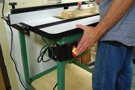 table saw safety switch choosing a router table canadian woodworking magazine