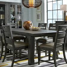 dining room cool narrow dining table glass dining room table