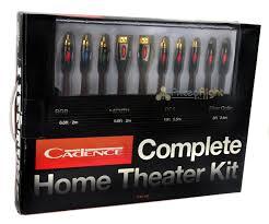 complete home theater complete home theater wiring wire cable kit hdmi digital fiber