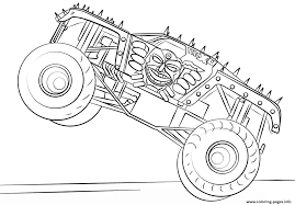 bigfoot monster truck movie max d monster truck bigfoot coloring pages printable
