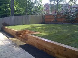 Garden Sleeper Ideas Gardens With Sleepers Ideas Of Split Level Garden Search