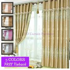 Pink And Gold Curtains Blockout Beige Grey Coffee Pink Gold Curtain Fabric Valance Drapes
