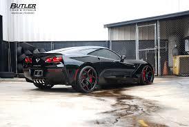 corvette stingray tires c7 chevy corvette stingray with 20 21in custom carbon fiber