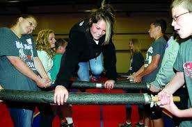 Blind Fitness B L I N D Retreat Sees Students Bridging Gaps Tackling Tasks