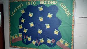 leaping into second grade bulletin board the lucas lodge