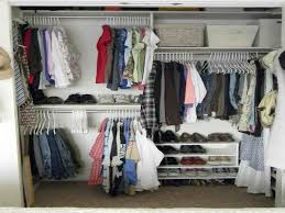 bedroom closet organizing ideas