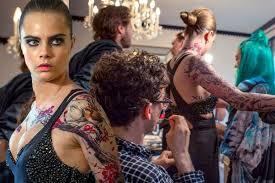 cara delevingne gives behind the scenes look as she gets met gala