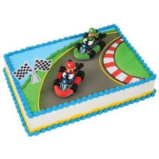 mario cake topper mario mario kart cake topper national cake supply
