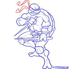 draw ninja turtle
