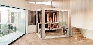 designer sauna cube sauna design for indoor sauna and outdoor sauna