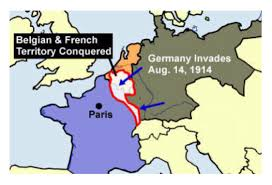 Map Of Belgium And France by World War 1 By Zkneale
