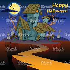 happy halloween scary background stock vector art 612644988 istock