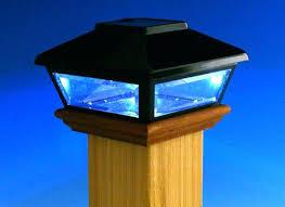 low voltage led column lights deck post led light cap lights solar low voltage intended for