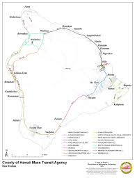 Hawaii Big Island Map Hele On Transit Services General Information U2014 Hele On A Service