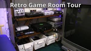 retro game room tour 2016 youtube