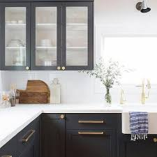 brass and black kitchen cabinet hardware white shaker kitchen cabinets brushed brass cabinet pulls