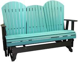 Gliding Adirondack Chairs 5 U2032 Adirondack Glider Polywood Dutch Haus Custom Furniture
