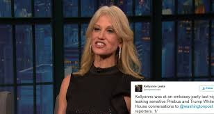 Youtube Whitehouse Kellyanne Conway Accused Of Leaking White House Info At D C Party
