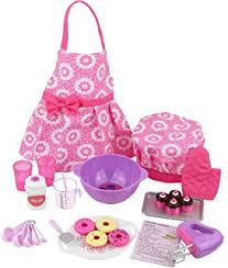 amazon com 18 inch doll furniture kitchen set with oven stove