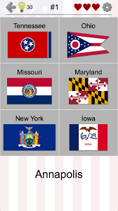 Ohio travel quiz images 50 us states map capitals flags american quiz android apps