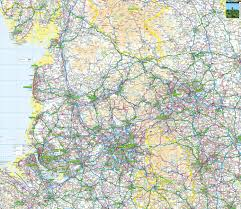 England Maps by North West England Offline Map Including Manchester Liverpool