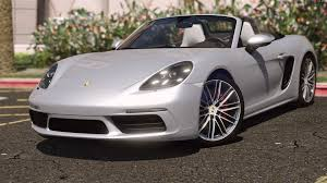 custom porsche boxster porsche 718 boxster s add on replace gta5 mods com