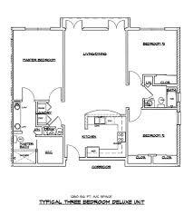 3 Bedroom 2 Bath Open Floor Plans Villageatparkeast Com
